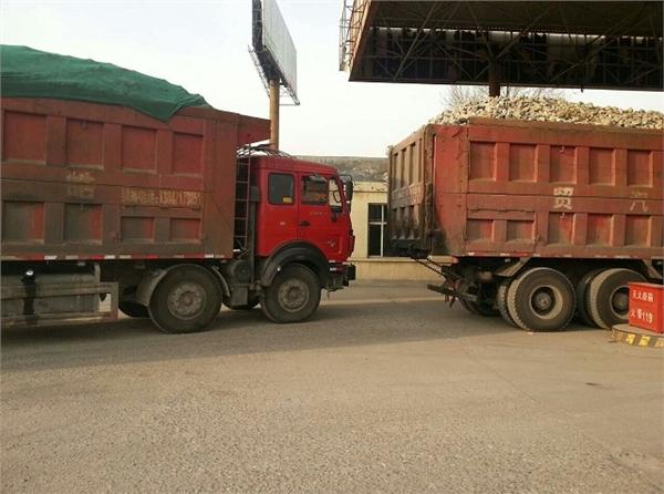 呼和浩特砂石厂沙石运输车队